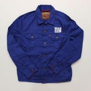 Levi's New York Giants Twill Trucker Jacket - L